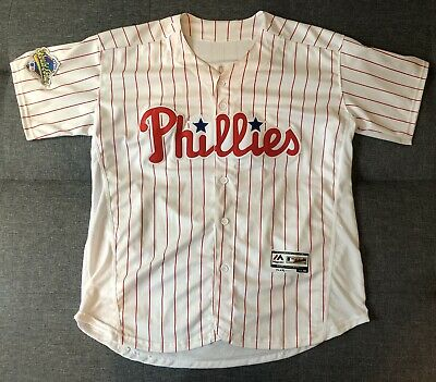 a788eca58  NEW  Darren Daulton Philadelphia Phillies Majestic Flex Base Jersey Men s  ...
