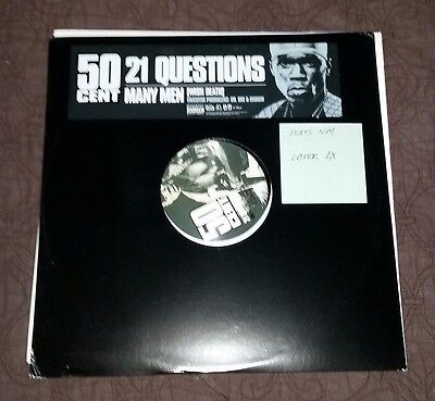 "50 Cent 21 Questions NM Many Men 12"" single Dr. Dre"