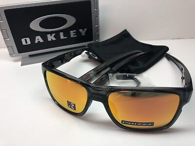 e34f5a727b Oakley Crossrange Grey Smoke 9361-1257 Sunglasses Prizm Ruby Iridium Lens