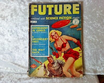 Future Combined with Science Fiction Stories Magazine/comic #8-UK Issue 50s/60s