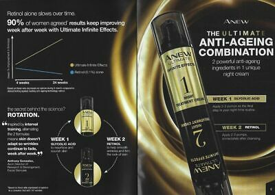 AVON ANEW Ultimate Infinite Effects Night Treatment ***FREE P&P***