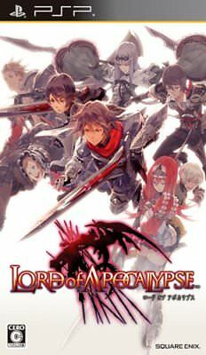 PSP Lord of Apocalypse Japan Import SONY Japanese Game Playstation