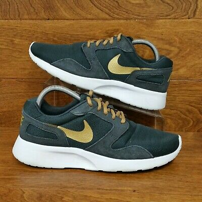 new products f49c8 1ad4e Nike Kaishi Run (Women s Size 9.5) Athletic Running Sneaker Shoes Black Gold