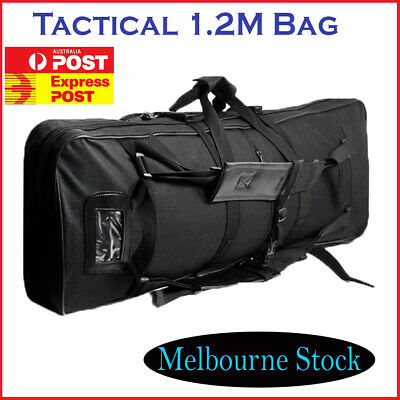 Tactical Rifle Bag Military Dual Carbine Blaster Carry Case Hunting Shooting AU