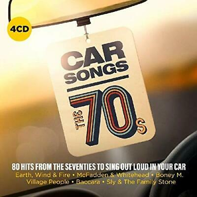 Various Artists - Car Songs - The 70s - Various Artists CD KSVG The Cheap Fast