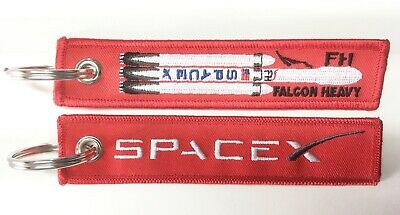 Keyring SPACEX Falcon Heavy Rocket Space