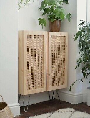 Rattan Wicker Cane Webbing Panel Bedhead Lamp shade Table Cabinet Doors by meter