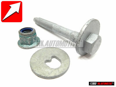 BMW OEM X5 E53 ECCENTRIC CAMBER BOLT W// WASHER AND NUT