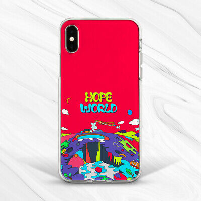 BTS Bangtan Boys Hope World Soft Case Cover For iPhone 7 8 Xs Max XR Plus 6s