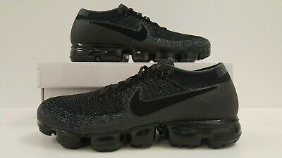 Nike Air Vapormax Flyknit Black Anthracite Grey Mens Trainers Various Sizes d4a8014a0