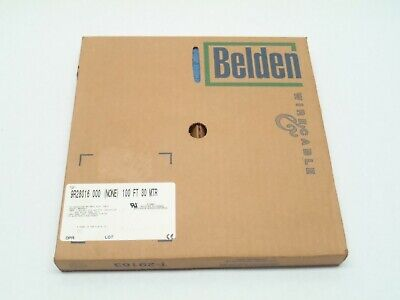 Belden 9R28016 000 Rainbow Ribbon Flat Wire Cable 100Ft 30M 28AWG 7x36 Strand