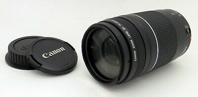 Superb Canon 75-300mm F4-5.6 EF Telephoto Auto Focus III Zoom Lens #1084MS