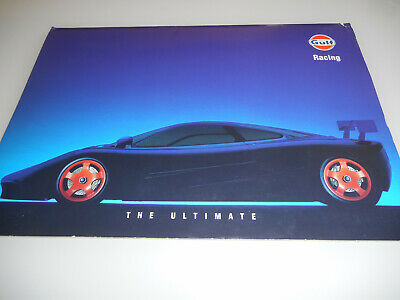 "GULF Racing McLaren F1 F 1 GTR Press kit Pressemappe ""The Ultimate"" 1995"