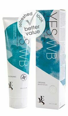 YES Organic Water Based Personal Lubricant 100ml Gentle No Smell or Taste
