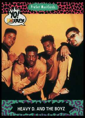 3rd Bass #146 Yo MTV Raps 1991 ProSet Musicards Trade Card C2556