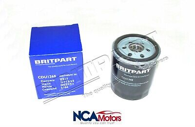 Land Rover Freelander 1 Petrol 1.8L Oil Filter - CDU1268 Britpart