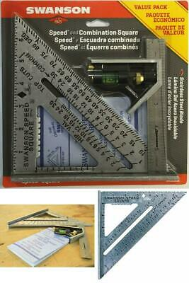 Speed Square Layout Triangular Blue Book Combination Pack Swanson Tool S0101CB