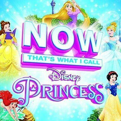 Various Artists-NOW That`s What I Call Disney Princess CD NEW