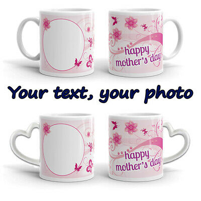 Mother's Day Personalised Mug Cup Gift Free Love Romantic Happy Present Mum