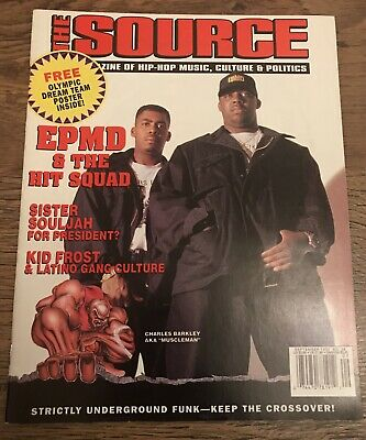 THE SOURCE HIP Hop Magazine EPMD Sept 92 Issue 36
