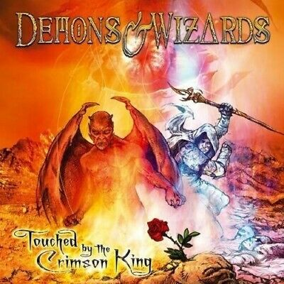 Cd Demons & Wizards Touched By The Crimson King Brand New Sealed