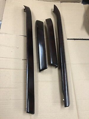 RANGE ROVER L322  Vogue Interior Front And Rear Door Card Trims Walnut Wood