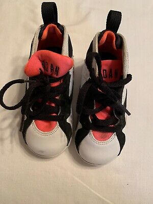 d501431c20f0bb Nike Air Jordan Retro VII 7 Hot Lava White Black Orange Size 7C 705418-106