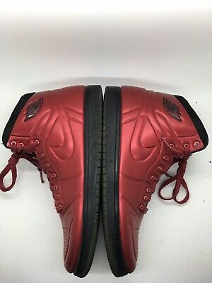 outlet store ef78c 4306c Nike Air Jordan AJ 1 Anodized Foamposite Red  414823-601 Mens 9