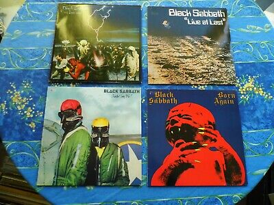 Black Sabbath Sammlung Lot Mega Rare Lp Ex