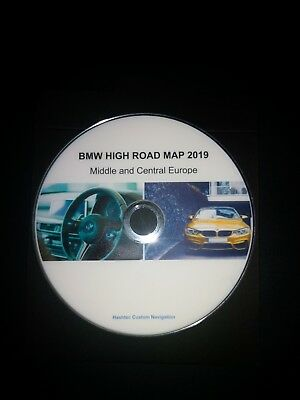 BMW Road Map Europe High MK4 2019 Navigation DVD + Blitzer