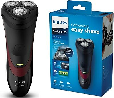 (END1/9) PHILIPS CloseCut Blade System 4-Direction Flex Head Dry Electric Shaver