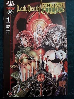 *Lady Death* Medieval *Witchblade* #1 Top Cow Comic*