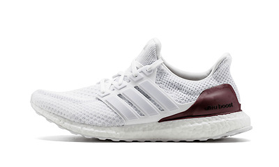 2dc6e7719d6 NEW Adidas Ultra Boost 2.0 Texas NCAA Exclusive Sample White A M Red Mens  sz 6.5