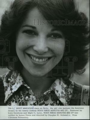 1978 Press Photo Your Three Minutes Are Up Star Janet Margolin Mjp16135