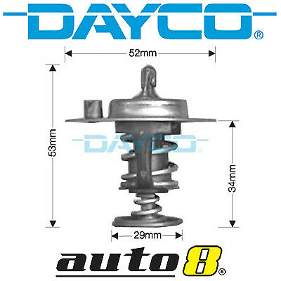 DAYCO Thermostat FOR Honda Civic 11//87-10//93 1.5L 2 carb D15B4