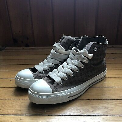 9583ec6d01 Converse Chuck Taylor CTAS Hi Mens 9 LA Fat Tongue Graffiti Subway Los  Angeles