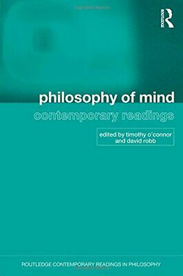 Philosophy of Mind: Contemporary Readings (Routledge Contemporary R... Paperback