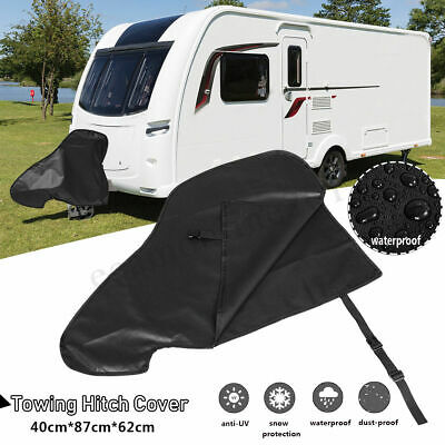 Waterproof Universal Caravan Towing Hitch Cover Trailer Tow Ball Coupling Lock