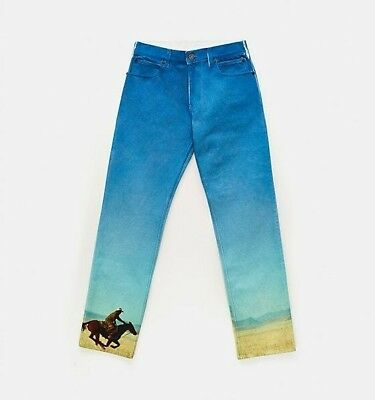 top quality classic style of 2019 clear and distinctive CALVIN KLEIN LANDSCAPE Straight Leg Denim Jeans 1978 RARE ...