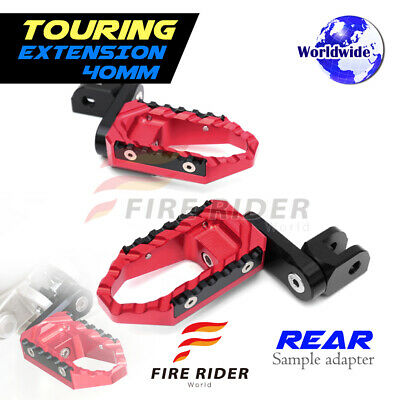 For Ducati 748 /S/R All Year 40mm Riser RD CNC Touring Rear Footpegs