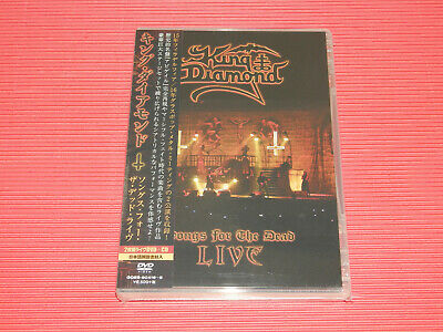 King Diamond Songs For The Dead Live Japan 2 Dvd + Cd Edition