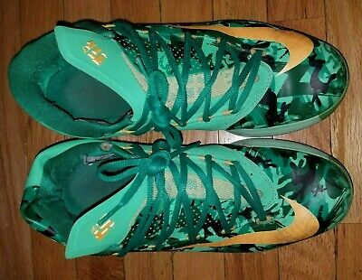 detailed look 392a1 66b9a 11 Nike Kd Vi 6 Easter Kevin Durant  35 Lucid Green Camouflage Camo 599424-