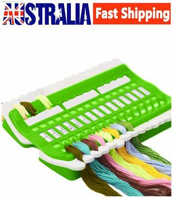 30 Slot Plastic Embroidery Floss Organizer Cross Stitch Thread Holder Craft Tool