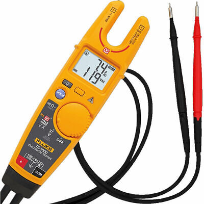 Fluke T6-1000 Clamp Continuity Current Electrical Tester Clamp Meter