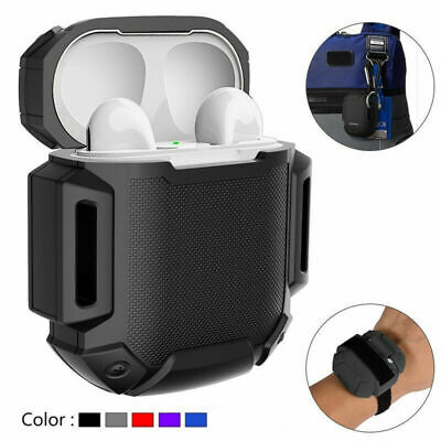 Antichoc Slim Coque en silicone AirPods protection pr Apple Airpod Chargeur Case