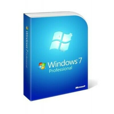 Licenza Windows 7 Pro Professional 32/64 Bit Key Originale Sticker