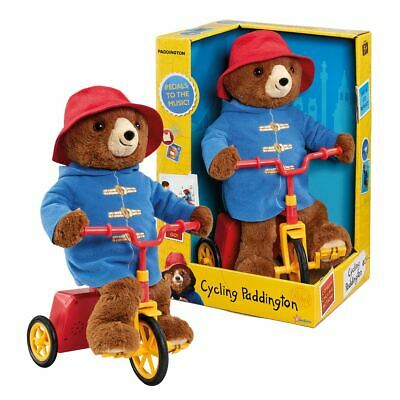New Paddington Bear Cycling Paddington Plush Pedals To The Music Bike Official