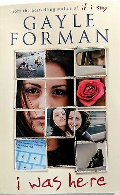I Was Here by Gayle Forman (Paperback, 2015) NEAR NEW, FREE POSTAGE