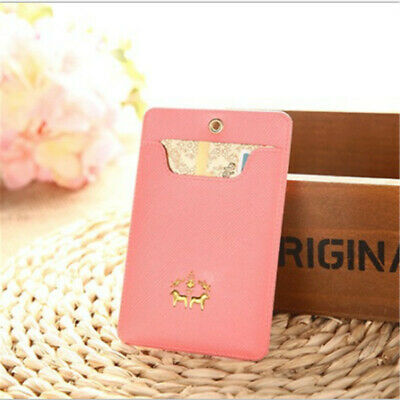Fashion Ultra-thin Portable Card Document Bank Bus Halter Card Wallet B