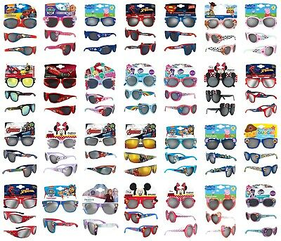 Childrens Sunglasses Boys Girls - Paw Patrol Avengers Peppa Pig Toy Story 4 Cars
